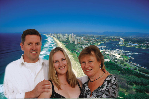 Connie Olle & Mona, and the Gold Coast in October 2008